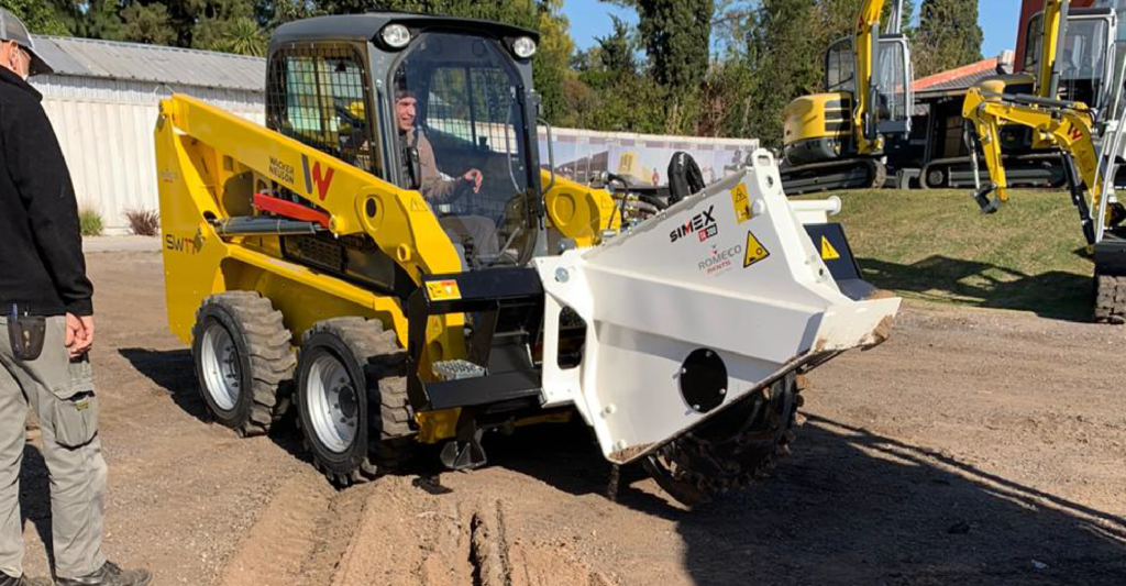 Microtrenching Argentina
